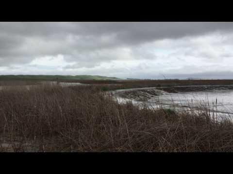 Suisun Marsh managed wetland overtopping