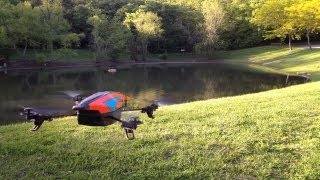 Video Review: Parrot AR Drone 2.0 MP3, 3GP, MP4, WEBM, AVI, FLV September 2018