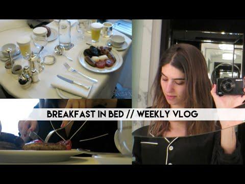 Breakfast in Bed // Lily Pebbles Weekly Vlog