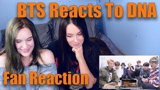 Video BTS Reacts to DNA (Fan Reaction) MP3, 3GP, MP4, WEBM, AVI, FLV Mei 2018