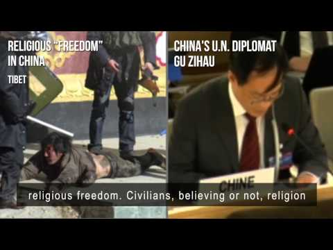 China & 'freedom of religion' at the UN 'Human Rights' Council