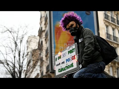 Διαδηλώσεις για το κλίμα στο Παρίσι
