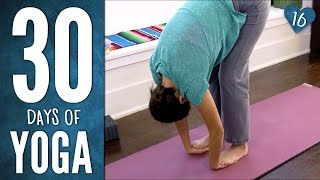 Day 16 - Easy Breezy Beautiful Yoga - 30 Days of Yoga