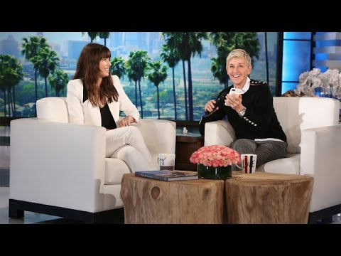 Ellen and Jessica Biel Surprise Justin Timberlake!