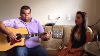 Clayton Queiroz e Thais de Souza (violao e voz) - Quero decer