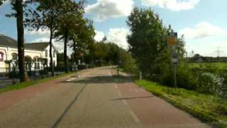 Abcoude Netherlands  city pictures gallery : Driving in Holland. abcoude to baambrugge and loenersloot