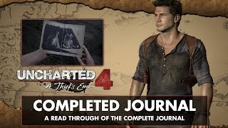 Video Uncharted 4: A Thief's End • Readthrough of full Journal Entries and Notes MP3, 3GP, MP4, WEBM, AVI, FLV Juli 2018