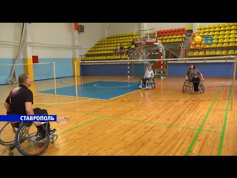 Ставропольским паралимпийцам подарили новые инвалидные коляски