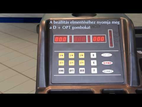 Centírozó, kerékkiegyensúlyozó gép, automata,  - 2év Garancia! U-520