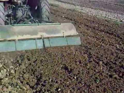 Frezanje - Frezanje bašte sa IMT 539, priprema za krompir i crni luk.