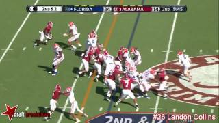 Landon Collins vs Florida (2014)