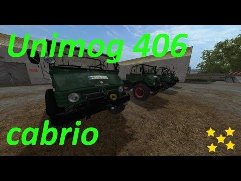 Unimog 406 Cabrio v2.1 DynamicHose