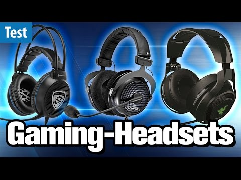 Die besten Gaming-Headsets im Test (2017) | #Gaming-PC