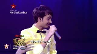 India's Raw Star - Mohit Gaur's cupcake, Yo Yo Honey Singh