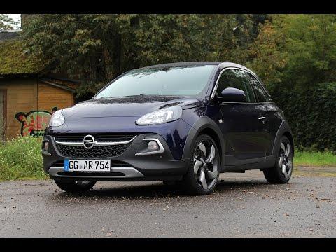 2014 Opel Adam Rocks Turbo – Fahrbericht der Probefahrt Test German Deutsch