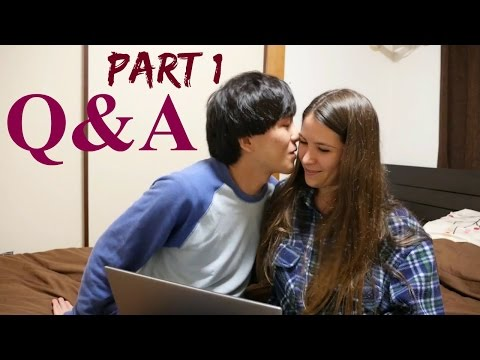 Vegan In Japan - Q&A Part 1 || Plans, Our Relationship, Favorite Foods, Top Manga/Anime