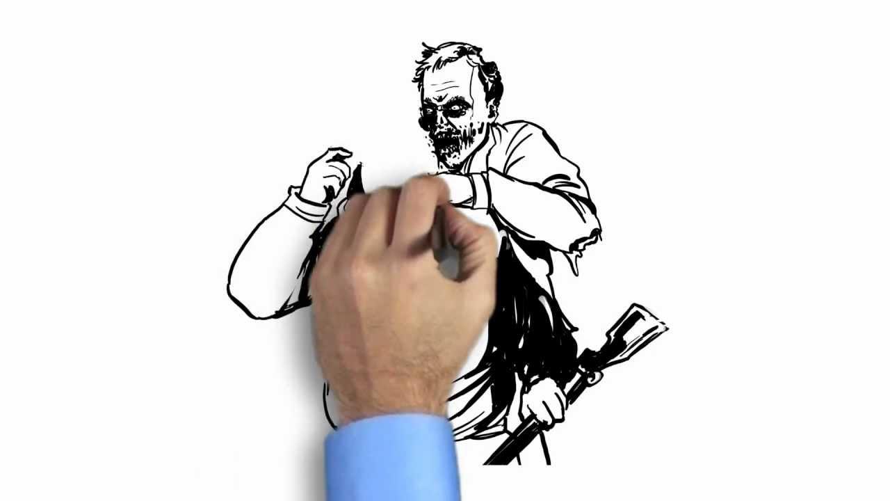 Whiteboard Video - Zombie