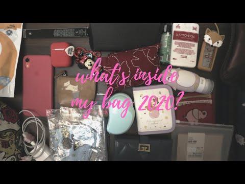 What's Inside My Bag 2020? Isinya Barang Sultan yang beneran sultan aja belom tent… видео