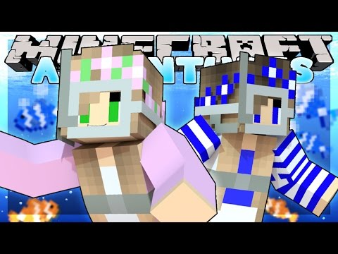Minecraft - Little Kelly Adventures : SCUBA DIVING FUN! w/ Little Carly