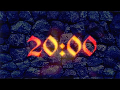 Video 20 Minutes countdown timer (With Ambient, Relaxing music) download in MP3, 3GP, MP4, WEBM, AVI, FLV January 2017
