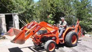 6. 1999 Kubota L3600D Tractor demo