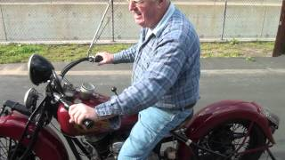 6. 1935 Indian Chief Motorcycle for Sale by Mark's Indian Parts Factory part1