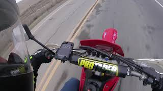 2. CRF230F Top Speed Run