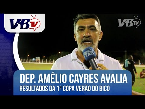 VBTv | Amélio avalia que Sampaio mereceu o título de campeão