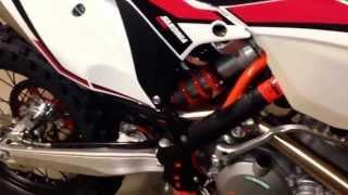 10. 2014 KTM 500 exc Six Days walk around