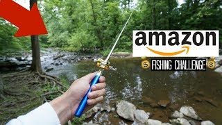 Video Fishing with the TINIEST Rod on Amazon!! (Surprise Catch!) MP3, 3GP, MP4, WEBM, AVI, FLV Februari 2019