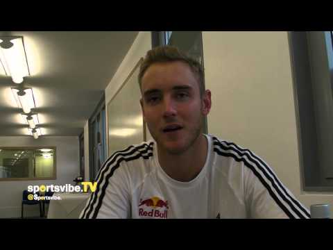 Stuart Broad Looks Towards England&#39;s India Test Series