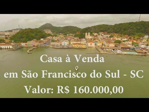Casa a Venda em Sao Francisco do Sul - Santa Catarina - R$ 160.000,00 - Bairro: Acarai