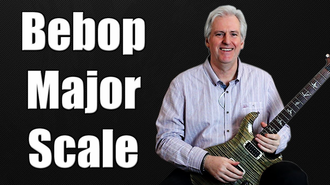 Bebop Major Scale – 3 Notes Per String – Guitar Scales