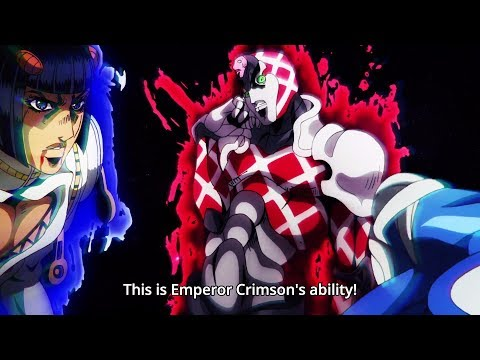 ジョジョ: This Is King Crimson's Ability! 『HD』