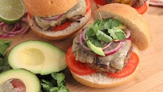 Tex Mex Burgers Recipe   Episode 1068 by Laura in the Kitchen