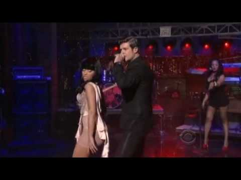 Robin Thicke - Shakin' It 4 Daddy (feat. Nicki Minaj) David Letterman Live