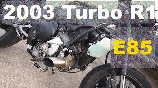 10. Turbo 2003 R1 first street ride on E85 (uncut long version)