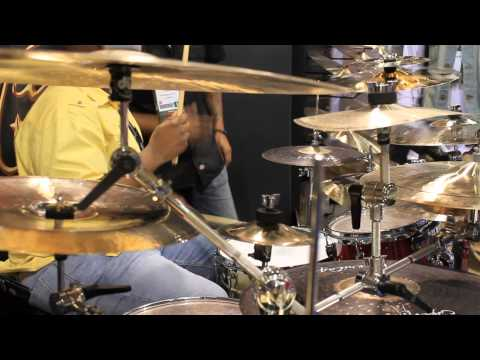 Namm 2013 Supernatural Cymbals Brent Easton