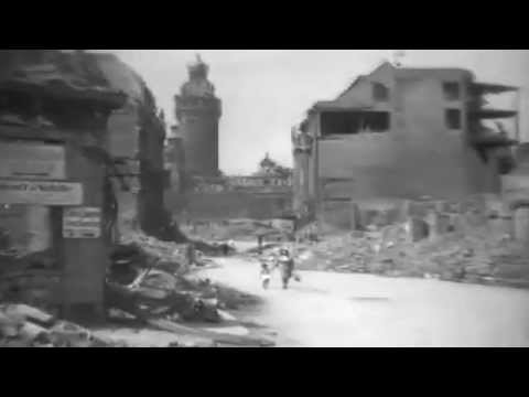 1945: Ruins Of Leipzig Germany, 06/21/1945 (full)