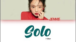 Video [1 시간 / 1 HOUR LOOP] JENNIE - 'SOLO' - Color Coded Lyrics MP3, 3GP, MP4, WEBM, AVI, FLV November 2018