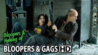 Live Free or Die Hard (2007) Bloopers Outtakes Gag Reel (Part1/2)