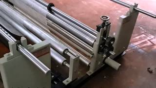 Unwinding Rewinding System with Slitting Arrangement – Krishna Engineering Works