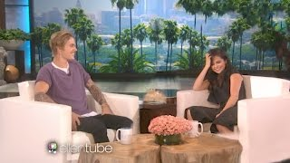 Video Justin Bieber And Selena Gomez on Ellen 2017 MP3, 3GP, MP4, WEBM, AVI, FLV Januari 2018