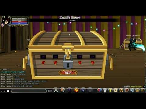 AQW How to Open Zazul's Chest 100% Working!