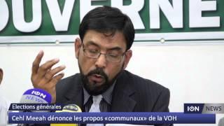 Cehl Meeah dénonce les propos «communaux» de la VOH Video