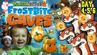 Video Dad plays PVZ 2! Chase Plays Everything! Frostbite Caves: PEPPER-PULT!  Day 4, 5 & 6 MP3, 3GP, MP4, WEBM, AVI, FLV Juni 2019