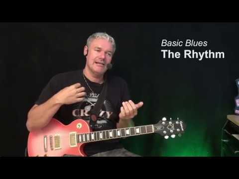 Basic Blues ( complete beginners course ) – Guitar Lesson