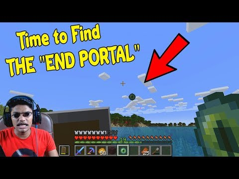 Heading Out to find the END PORTAL in [MINECRAFT- Part 22]