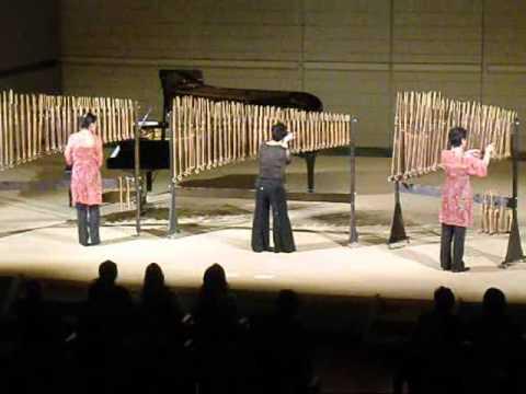 Angklung, instrumento de indonesia, sorprenderá en Iguazú en Concierto