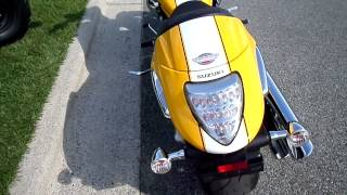 1. 2008 Suzuki Boulevard M109R Limited Edition